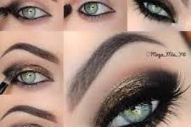 stylish black eye makeup tutorial