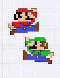 Graph Paper Draw Mario On Graph Paper Under Fontanacountryinn Com