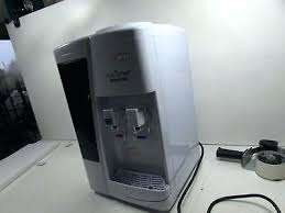 nutrichef countertop water cooler dispenser manual white