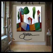 original abstract modern home decor wall art huge canvas painting