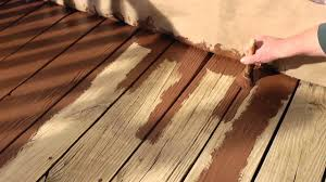 how to resurface a wood deck with olympic rescue it