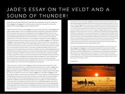 presentation  21 jade s essay on the veldt