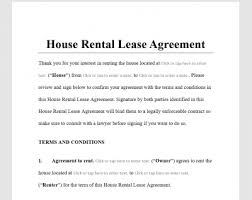 By marcia stewart and janet portman attorney | aug 27, 2019. House Rental Lease Agreement Template Antonlegal