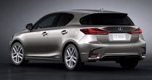 Lexus Ct Revealed With New Styling Tech
