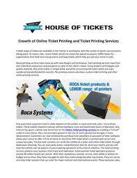 Event Ticket Printing Software Online Ticket Printing And Ticket Printing Services By Lenvodesouza