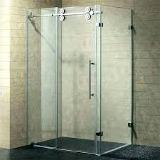 frameless shower door seal shower door seal for 3 8 glass semi sweep ideas install glass