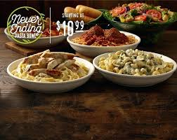 olive garden everett the never ending pasta is back with unlimited pasta sauce toppings olive garden
