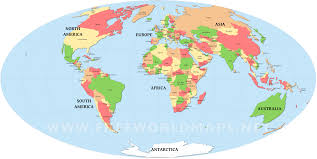 Printable World Map Outline A4 Download Them Or Print