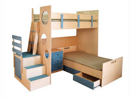 bunk bed with steps by casa kids casa kids brooklyn furniture