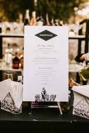 diy wedding menu ideas. like the style of this for cocktail menu diy wedding ideas