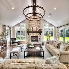 formal living room ideas blue flower patterned shades brown wood side table drawer dark green comfy