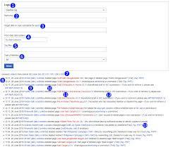 Help Log Wikipedia