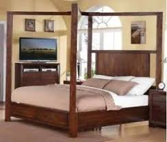 Queen Size Four Poster Bed Open Travel