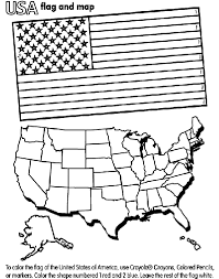 United States Of America Coloring Page Crayolacom