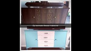 laminate furniture makeover. diy thrift store laminate dresser makeover laminate furniture makeover