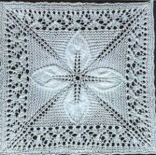 24 best Cotton Warp Knitted Quilts images on Pinterest ... & Square_counterpane_with_leaves_small2 could use alt insert for border, same  center just different openwork Adamdwight.com