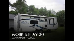 sold used 2016 work play 30 in cantonment florida pop rvs