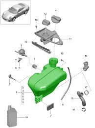 porsche 991 coolant bottle 99110605705 99110605705 design 911 porsche 991 2011>> zoom in 2