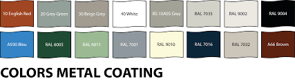 Colors And Coatings