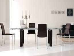 Tavoli Da Pranzo In Legno Design : Tavolo da pranzo vetro e legno triseb