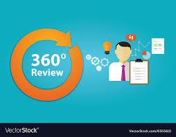 employee evaluation feedback review feedback evaluation performance employee vector image