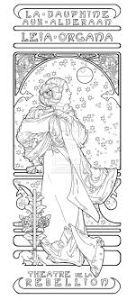 Coloring Page See More La Dauphine