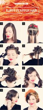 1920s Long Hair Style halloween howto turning long hair into a flapper bob flapper 3531 by wearticles.com