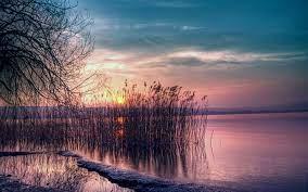 Twilight Nature Sunset Landscape ...