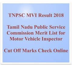 tnpsc mvi result 2020 cut off marks