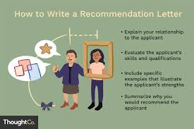 how to write an recommendation letter a guide to writing recommendation letters