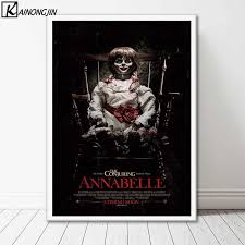 Art Poster <b>Annabelle Horror Movie Posters</b> and Prints Wall Picture ...
