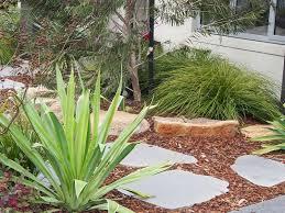 basalt round garden stepping stone