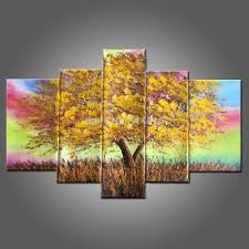 Paintings For The Living Room Aliexpresscom Buy Hand Painted Canvas Painting Landscape Oil