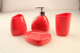 red glass bathroom accessories. Photo Gallery Of Red Bathroom Accessories Target In Lovely Red Glass Bathroom Accessories