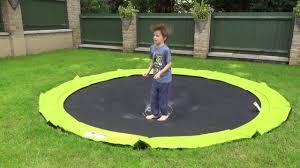 in ground trampoline. PLUM In Ground Sunken Trampoline P