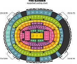 Msg Basketball Game Seating Chart