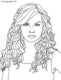 Easy Taylor Swift Coloring Pages Easy Taylor Swift Coloring Pages