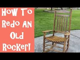 refinish rocking chair. Delighful Rocking How To Refinish An Old Wooden Rocking Chair With The Idaho Painter Throughout
