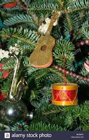 Musical Instrument Christmas tree ornaments / guitar,drum,saxophone