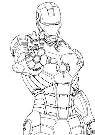 Coloring is a great activity for your little iron man or girl. Coloring Pages Printable Ironman Coloring Page