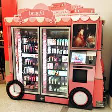 Pop Vending Machines New On The Rise High End Cosmetics Vending Machines