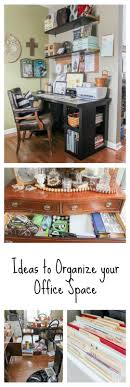 organize your office space. They Have Some Amazing Tips And Tricks For Organizing Your Craft/office Space As Organize Office