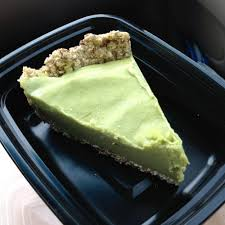 Garden Kitchen Houston Delicious Raw Key Lime Pie The Sweet Avocado Filling Was Tangy