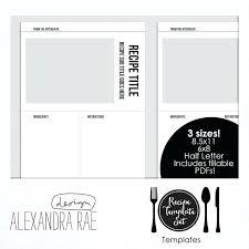 Online Cookbook Template Create A Cookbook Online Cookbook Recipe Templates Create Online