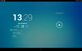 android clock widget   Template android clock widget