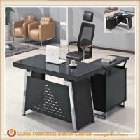 glass office furniture. Top End Quality Glass Office Furniture Table Desk (HX-GL006)