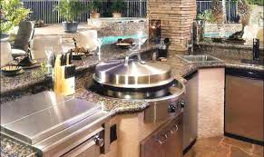outdoor griddle built in portable flat top grill for home used