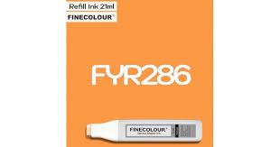 Заправка <b>Finecolor</b> Ink <b>FYR286</b> Флуоресцентный оранжевый, 21 мл