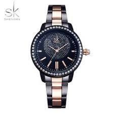 Shengke Rose Gold Watch Women Quartz Watches Ladies ... - Vova