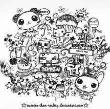 Bunny Cute Deviantart Doodles Panda Inspiring Picture On Favim